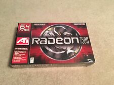 ATI Radeon 7500 64 MB AGP 4x/2x Graphics Card Brand New in Box SEALED