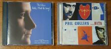 Lot of 2 Phil Collins CD's Hello, I Must Be Going! & Hits In New Jewel Cases