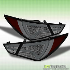 Smoked Fit 2011-2014 Sonata Philips-LED Perform Tail Lights Rear Lamp Left+Right