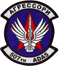 USAF 507th AIR DEFENSE AGGRESSOR SQUADRON PATCH - CYRILLIC