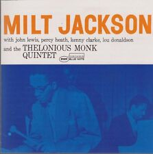CD Album Milt Jackson And The Thelonious Monk Quintet Blue Note Collection