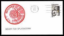 1973 SKYLAB I - READY FOR SPLASHDOWN - HOUSTON, TX - U.S. #1448 (ESP#3745)