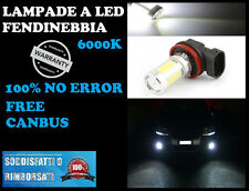 LAMPADE FENDINEBBIA H11 LED CREE RESISTENZA CANBUS 6000K AUDI A4 B7 2004-2008