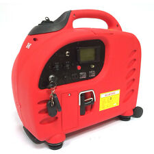 2200W Digital SineWave Inverter Gas Powered Generator Remote Electric Start LCD