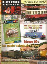 LOCO REVUE N°686 RESEAU HO : 04 SAISONS DE CASTRES / VOITURES GC LM VOIE A PIKO