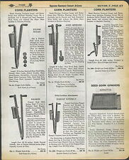 1942 AD Acme Improved Eclipse Rotary Pioneer Dobbins' Superbilt Corn Planters