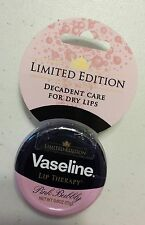 Limited Edition Vaseline Lip Therapy Pink Bubbly 0.6 OZ. (17 g)