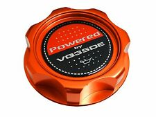 ORANGE VQ35DE M7-STYLE BILLET ENGINE OIL FILLER CAP FOR NISSAN INFINITI