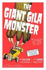 Giant Gila Monster The Movie Poster 24x36