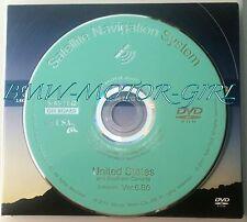 2013 Honda Navigation System TURQUOISE DVD UPDATE V.6.B0 Part # U4033-0075-209