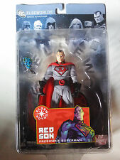 DC Direct Elseworlds Red Son President Superman Figure NEW