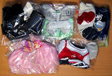 Build a Bear 17 Piece Clothing Lot - Shoes, Shirts, Gowns, Tinkerbell, Harley ++