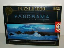 Educa 1000 pc. Jigsaw Puzzle Panorama Island Of Quessant, France Lighthouse NEW
