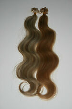 """Pre-Bonded 18"""" U-Tip -200 Strands European Remy Body """"AAA"""" Grade Hair Extensions"""