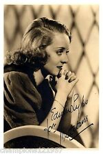Bette Davis ++Autogramm++ ++Hollywood Legende++2