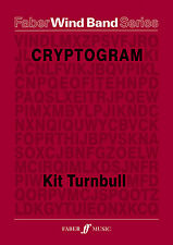 Cryptogram Wind Band Score Learn to Play WOODWIND SAX FLUTE FABER Music BOOK