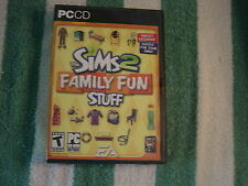 The Sims 2 - Family Fun Stuff   (PC, 2006) Rated T for Teen