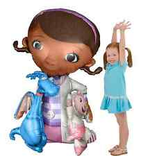 "Doc McStuffins Giant Gliding 46""Air-Walker Mylar Balloon Birthday Party Supplies"