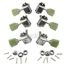 Green Top 3L3R Set Guitar Deluxe Vintage String Tuners Tuning Pegs Machine Heads