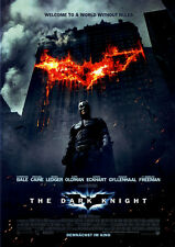 The Dark Knight ORIGINAL KINOPLAKAT DIN A1 GEROLLT BATMAN / Christian Bale JOKER