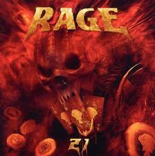 RAGE - Twenty One (21)  (2012) + Live in Tokyo Bonus CD  NEU