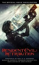 Resident Evil: Retribution - The Official Movie Novelization-ExLibrary