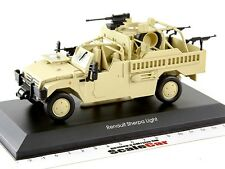 RENAULT Sherpa Light Scout Tactical Armoured Jeep Desert Camouflage Altaya 1:43