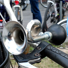 Bicycle Bike Cycling Metal Air Horn Hooter Bell Bugle Trumpet Honking Air Horn