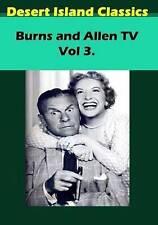 Burns and Allen Tv Vol 3.  DVD NEW
