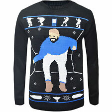 HOTLINE BLING Drake Ugly Christmas jumper FUNNY GIFT Unisex Mens Ladies Sweater