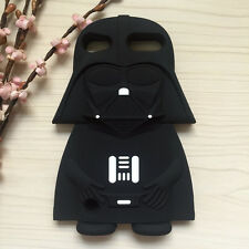 3D Soft Silicone Star Wars Darth Vader Back Cover For ipod Touch 5 5TH 6 6TH Gen
