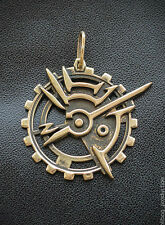 The Outsider's Mark medallion inspired Dishonored game made from bronze