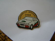 pins citroen rallye visa chrono visa gti supporter officiel johan 1992