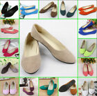Women's Fashion Casual Ballet  Loafers Flats Shoes Boat Single Shoes