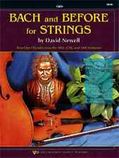 BACK AND BEFORE FOR STRINGS-CELLO MUSIC BOOK ORCHESTRA METHOD ON SALE BRAND NEW!