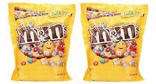 2 Bags Of M&M's 56oz Peanut Original Bulk Chocolate Candy XXL Bag M&Ms