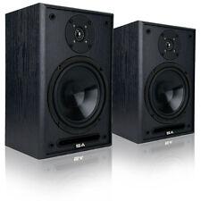 """Sound Appeal 2.0 System 6.5"""" Indoor Premium Bookshelf Speakers ,1 Pair,Black"""