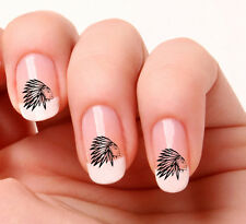 20 Nail Art Decals Transfers Stickers #315 - Little Indian