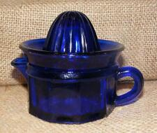 Juicer Measure Cup Cobalt Blue TWO piece Reproduction Depression Glass #506C