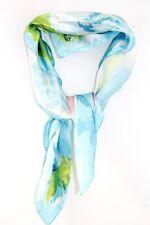 Onorevoli Retro Baby Blue olio Pittura Design Artsy Carino SCIARPA / collo Cravatta (MS9)