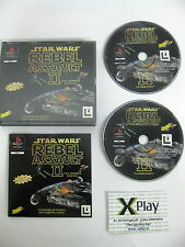 Psx Rebel Assault II 2 Pal España Completo psx totalmente en castellano