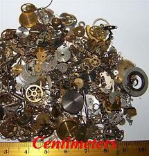 FREE EU USA SHIP 15g Lot Vintage Steampunk Watch Parts OLD Pieces Gears Wheels
