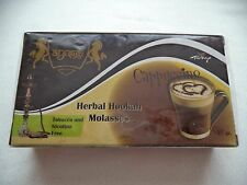 125 gr Herbal Hookah Shisha Molasses Cappuccino Flavor - Nicotine & Tobacco Free