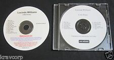LUCINDA WILLIAMS 'LITTLE HONEY' 2008 PROMO CD
