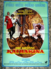 GROSSE KATHARINA / GREAT CATHERINE * JEANNE MOREAU - A1-Filmposter 1968 REHAK