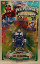 Power Rangers Time Force Auto Morphin Flip Head Blue Ranger By Bandai (MOC)