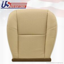 2007 To 2011 Cadillac Escalade Left Front Bottom Leather Seat Cover Light Tan