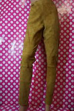 WOMAN'S POLO RALPH LAUREN LAMB LEATHER STRETCH SUEDE LEGGINGS SKINNY PANTS $998