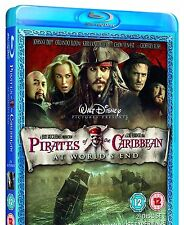 PIRATES OF THE CARIBBEAN BLU RAY AT WORLD'S END 3RD MOVIE THIRD PART 3 NEW UK