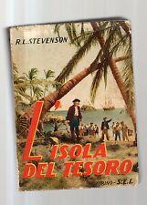 l isola del tesoro - robert.l.stevenson  - edizione SEI del 1951 - marz31